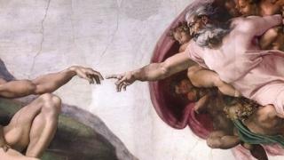 Capilla Sixtina - Creación de Adán